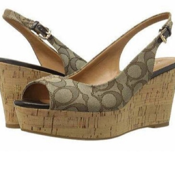 Coach Platform Sandals | Poshmark